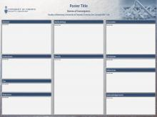 research day poster templates | university of toronto faculty of, Presentation templates